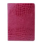 Lyx Ultratunn Croco Smart PU Läderväska till iPad Air iPad Tillbehör