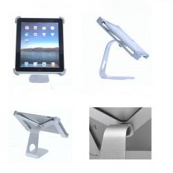 M-shape Aluminum Metal 360 Degree Rotatable Holder Stand For iPad