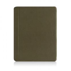 Macally MAGCOVER3M Folio Läderfodral Med Fällbara Ställ för iPad