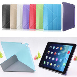 Magnetisk Multi Fold PU Läder Smart Ställ Fodral iPad Air 2
