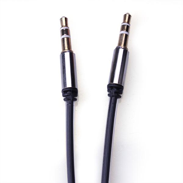 Hane till Hane Record Bilstereo Kabel för iPhone Smartphone iPod Tillbehör