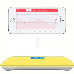 Mecare Lemon Intelligent Bluetooth Elektronisk Scale til iPhone