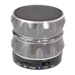 Metall, Stahl, drahtlose intelligente Hands Free Bluetooth Lautsprecher für iPhone