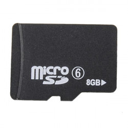 Micro 8g Sdhc Class 6 Kort Minneskort Tf Card Flash-Minneskort