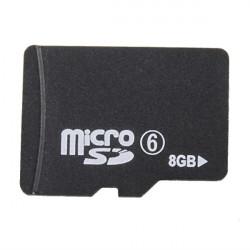 Micro 8g Sdhc Class 6 Kort Minneskort Tf Card Flash-Minneskort
