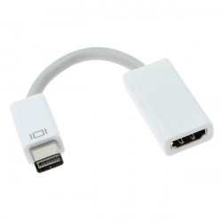 Mini 10cm Dvi Hane till Hdmi Hona Adapterkabel för Macbook