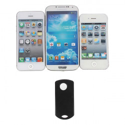 Mini Trådlös Bluetooth Remote Fjärrutlösare för iPhone Smartphone