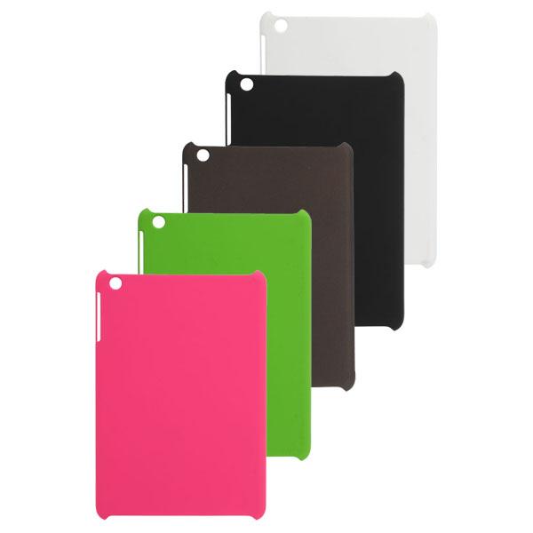 Mix Färg Enkel Design Hårdplast Fodral Skydd Flår för iPad Mini iPad Tillbehör