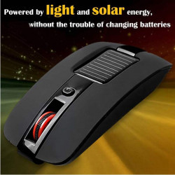 Multi-function 4 Keys Solar Energy 2.4GHz Wireless Optical Mouse