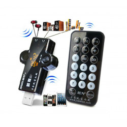 Multi-function USB Bluetooth4.0 Audio Receiver Remote Controller