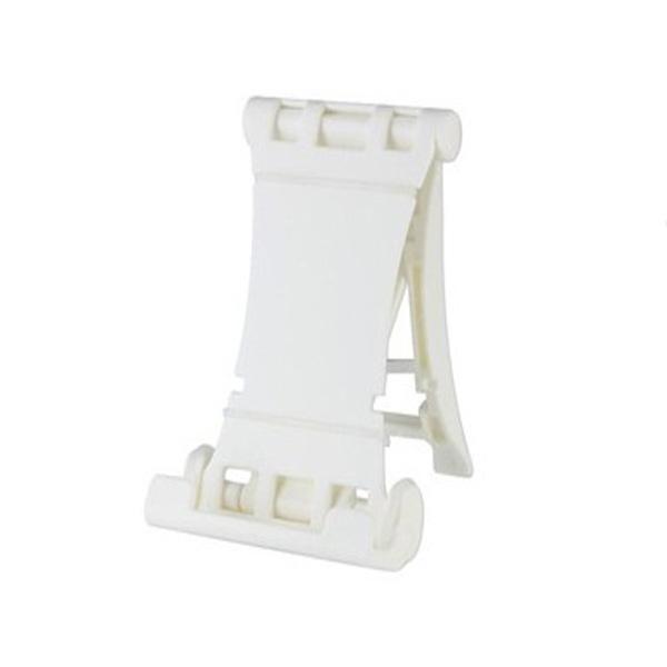 Multifunktionella Folding Hållare Stativ för iPhone iPad Tablet PC Vit iPad Tillbehör