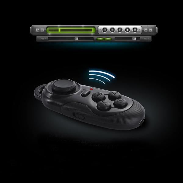 Multifunktionale Bluetooth Steuerung Gamepad Shutter Maus für iPhone iPhone 6 Plus
