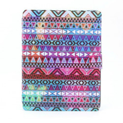 National Style PU Rotatable Stand Leather Case For iPad 2 3 4