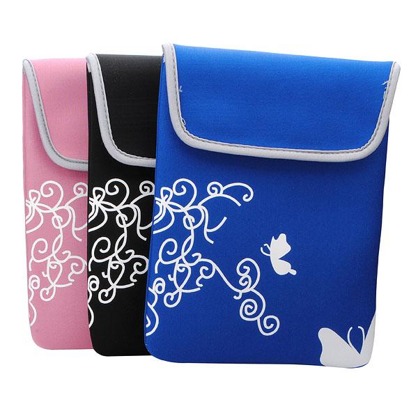 "Neoprene Mjukt Sleeve Pouch Bag för iPad 2 Galaxy Tab 10""S Tablet iPad Tillbehör"