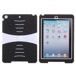 PC Silicone Hybrid Stand Shockproof Drop Proof Case for iPad Air