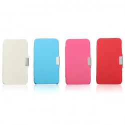 Pu Läder Flip Magnetisk Hård Fodral Skydd för iPod Touch 4