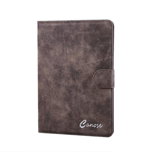 PU Luxury Retro Scrub Plånbok Flip Ställ Fodral iPad Mini 1 2 iPad Tillbehör