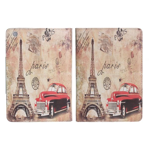 Paris Eiffeltornet Läderväska till iPad Mini iPad Tillbehör