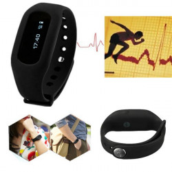 Stegräknare Smart Fitness Watch Step Kaloriräknare Wristband