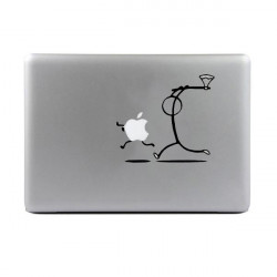 Personlighed Killer Stickman Decal Sticker til MacBook