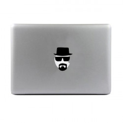 Personlighed Vinyl Decal Beskyttende Laptop Stickers til MacBook