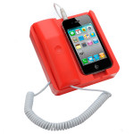 Telefon Shape Retro Classic Handen Dock Ställ  för iPhone 4S 4G 3GS iPhone 4 4S