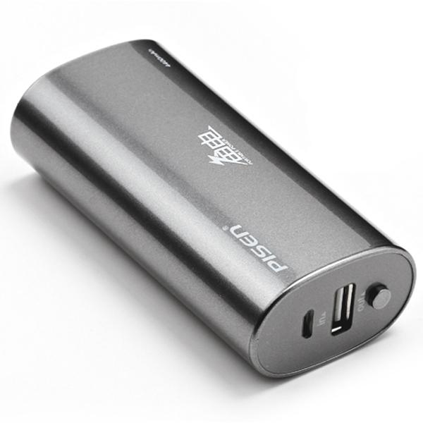 Pisen Portable Power 4400mAh PowerBank Laddare för iPhone iPad Tablet iPad Tillbehör