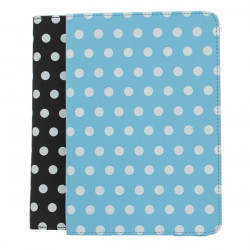 Polka Dot PU Leather Smart Case Cover With Stand For iPad Mini