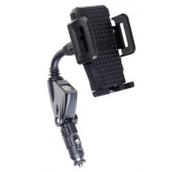 Tragbare Auto Ladegerät mit Halterung für iPhone 4 4S 5 5S iPod Mobiltelefon