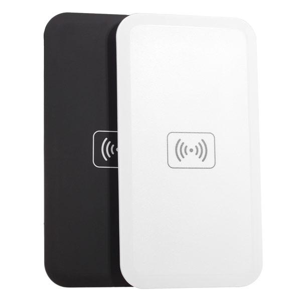 Protable Qi Sändare Trådlös Laddare Pad för iPhone6 smartphone iPhone 5 5S 5C