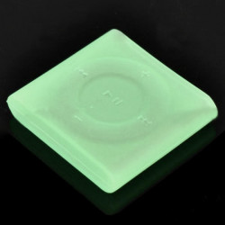 Protective Silicone Case For iPod Shuffle 6(Light Green)