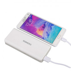 ROMOSS Sense 4 30000mAh Powerbank Ekstern Batteri til iPhone