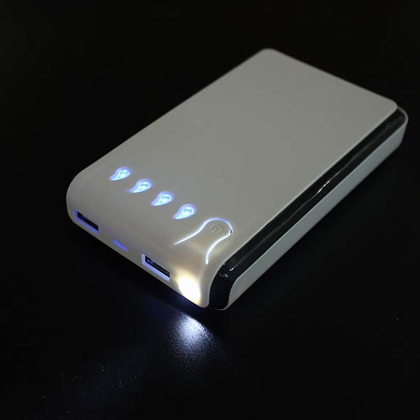 Regndroppar Shape 15000mAh Externt PowerBank för iPhone6 Smartphone iPhone 6