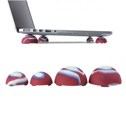 Forfining Bright Silikon Cooling Ball Cover til MacBook