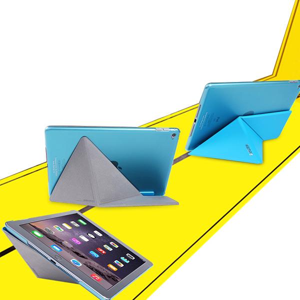 Remax Magnetisk Deformation PU Fodral Skydd för iPad Air 2 iPad Tillbehör