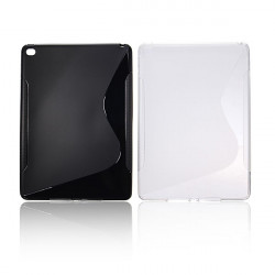 S Line Wave Soft TPU Silicone Gel Back Case Cover For iPad Air 2