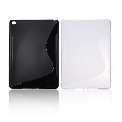 S Line Wave Mjukt TPU Silikon Gel Bak Fodral Skydd för iPad Air 2