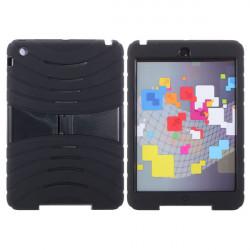 Seismic Drop Resistance Rugged Dual Layer Ställ Fodral för iPad Mini