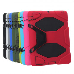 Stötsäker Design Silicon Plastklämma Fodral Skydd för iPad 3