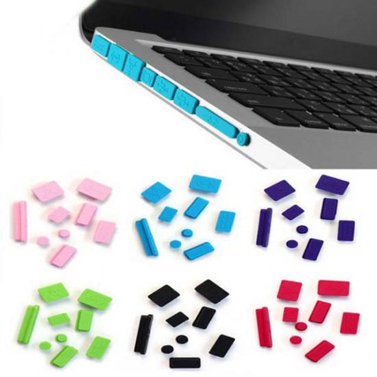 Silicon Anti Staub staubdichten Stecker Anschlüsse Hülle für MacBook Pro 2021