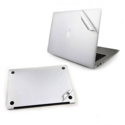 Silver Shell Protective Film For Macbook Air Front And Back