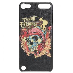 Skull Hoved Skeleton Læder Embossment Effect Taske til iPod Touch 5