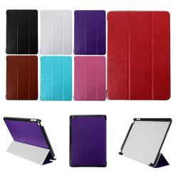 Slim Tri-Fold PU Leather Flip Stand Smart Case For iPad Air 2
