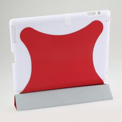 Smart Wake Sleep Slim Magnetisk PU Läder Hård Fodral Ställ  för iPad 2