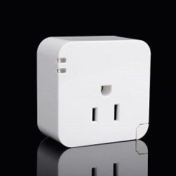 Smart WiFi US Plug Socket Fjernbetjening Plug til iPhone Smartphone
