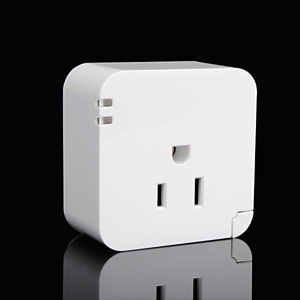 Smart Wifi US Plug Socket Fjärrkontroll Plug för iPhone Smartphone iPhone 4 4S
