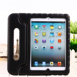 Mjukt EVA Skum Handtag Skydd Fodral Med Stativ för iPad Air