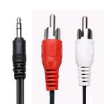Stereo 3,5 mm auf Cinch Audio Adapter Kabel für iPod MP AV iPod Zubehör