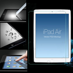 Tempered Glass LCD Screen Protector Film Guard For iPad Air
