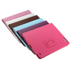 The New iPad 3 3rd Generation Folio PU Leather Stand Cover Case